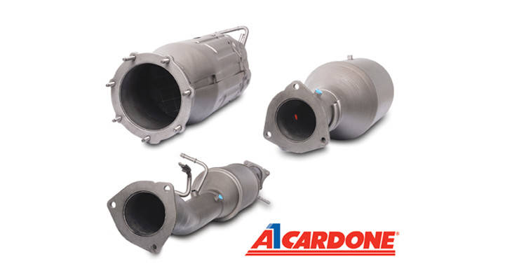 CARDONE introduces Reman Diesel Particulate Filters